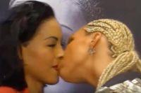 Соперница поцеловала Сесилию Брекхус в губы во время дуэли взглядов + видео