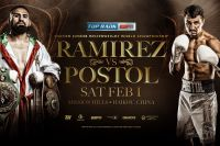 Хосе Карлос Рамирес и Виктор Постол прошли обязательное взвешивание WBC за 30 дней до боя