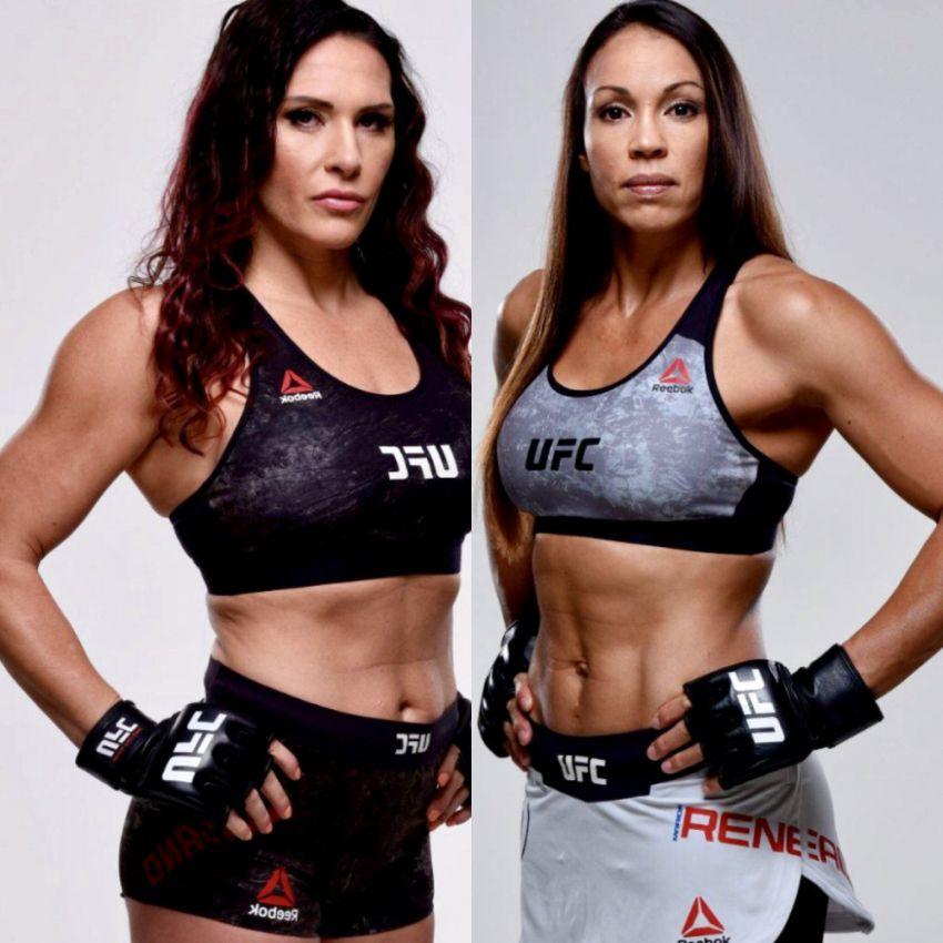 UFC Fight Night 133: Кэт Зингано победила Мэрион Рено