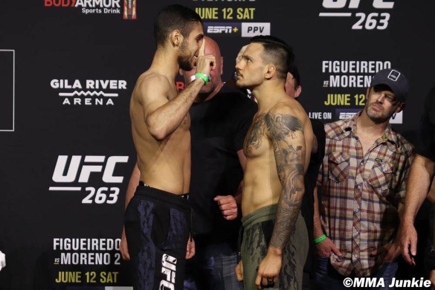 Видео боя Луиджи Вендрамини - Фарес Зиам UFC 263
