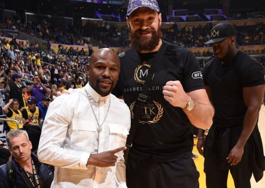"""Deontay Wilder on Mayweather: """"I can't imagine that the guy who bet against me in every fight wants to become my coach."""""""