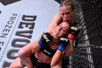 Кэтлин Чукагян уверенно победила Антонину Шевченко на UFC on ESPN 9