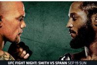 Где смотреть UFC Fight Night 192: Энтони Смит – Райан Спэнн