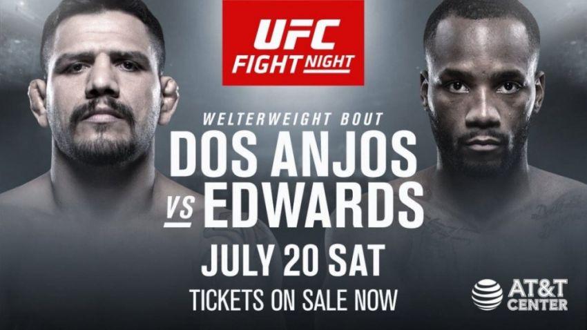 Прогноз на бой Рафаэль Дос Аньос - Леон Эдвардс на UFC on ESPN 4
