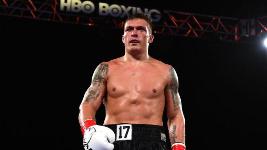 Александр Усик рассказал о сроках возвращения в ринг