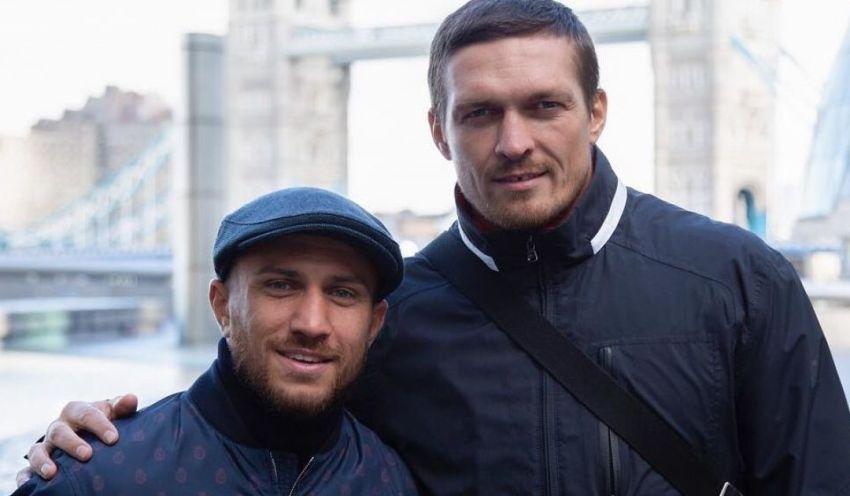 Александр Усик объяснил, почему Ломаченко не отказался драться с Лопесом из-за травмы плеча