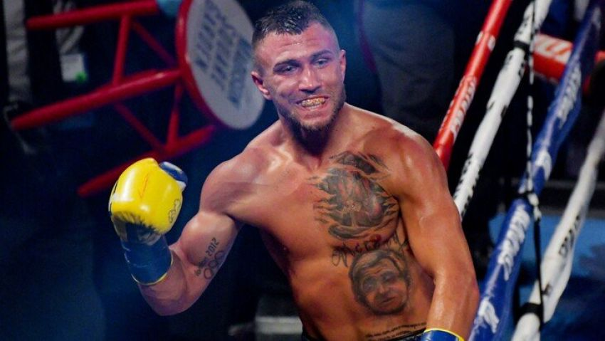 Vasil Lomachenko named his top 5 best boxers of all time