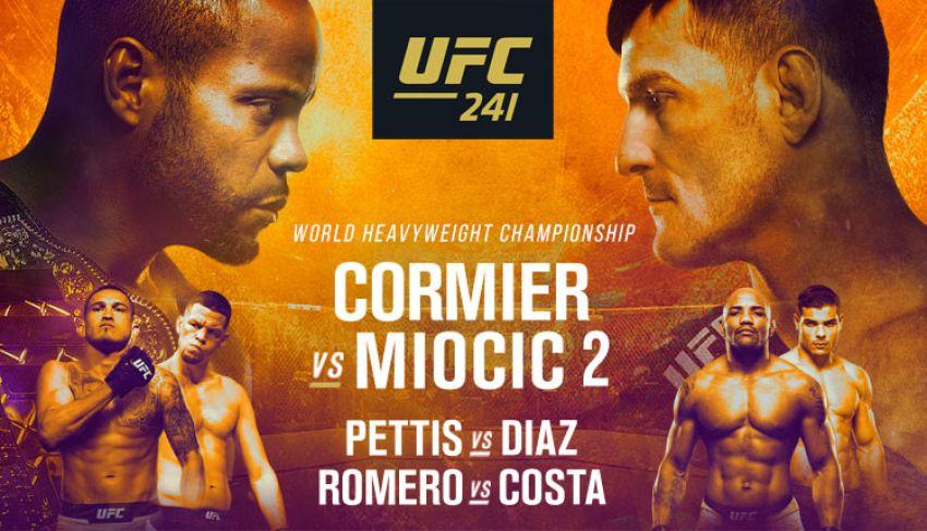 Файткард турнира UFC 241: Даниэль Кормье - Стипе Миочич 2