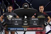 Видео боя Присцилла Гаол - Ангели Сабанал One Championship: Warrior's Dream