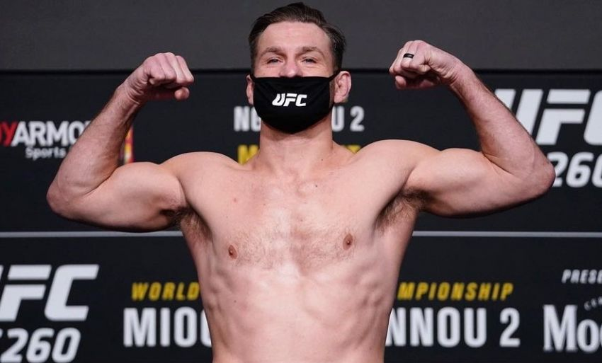 UFC 260 Weigh-in Results