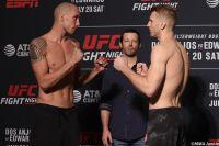 Видео боя Джеймс Вик - Дэн Хукер UFC on ESPN 4