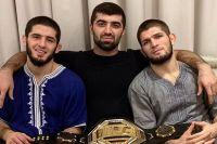 Хабиб Нурмагомедов надеется, что Ислам Махачев будет следующим чемпионом легкого веса UFC