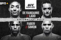 Файткард турнира UFC on ESPN+ 13: Жермейн Де Рандами - Аспен Лэдд, Юрайа Фэйбер - Рики Симон
