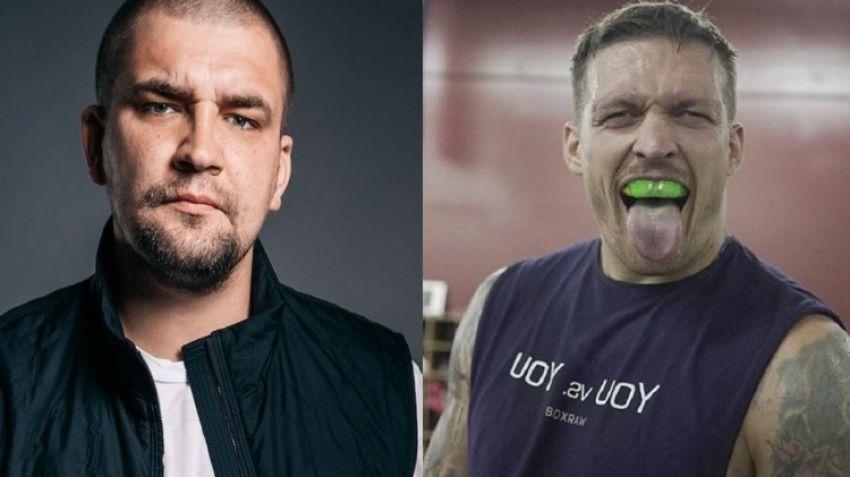 Александр Усик рассказал рэперу Басте, что такое бокс