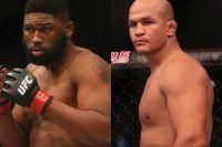 Официально: Джуниор Дос Сантос - Кертис Блэйдс на турнире UFC в Северной Каролине
