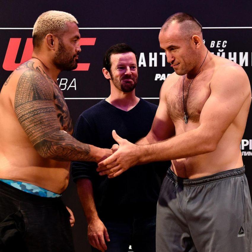 Видео боя Марк Хант - Алексей Олейник UFC Fight Night 136 Moscow