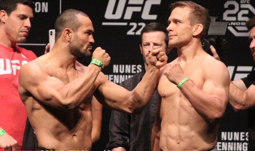 Видео боя Дэви Рамос - Ник Хейн UFC 224