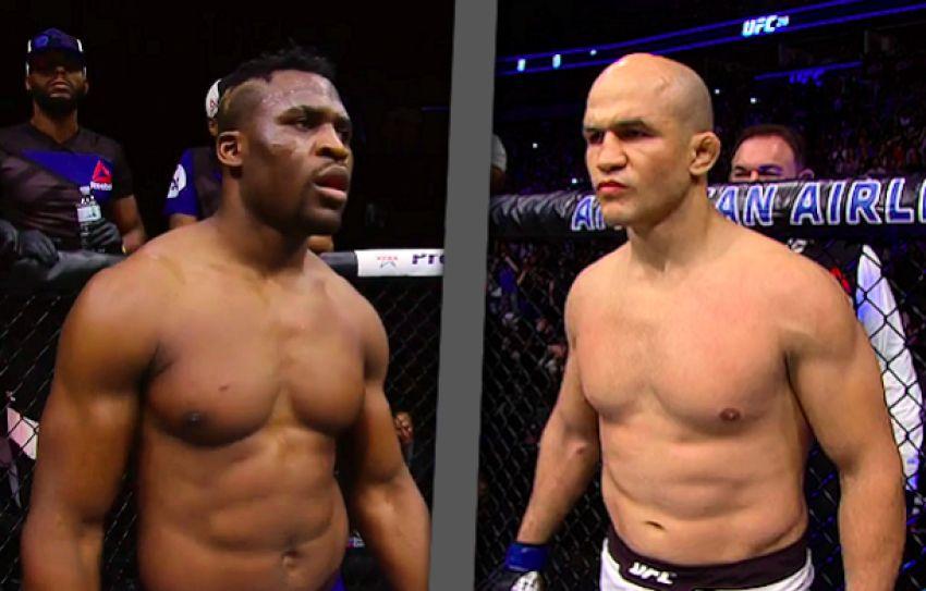 Бой Джуниора Дос Сантоса и Фрэнсиса Нганну станет мэйн-ивентом UFC on ESPN 4