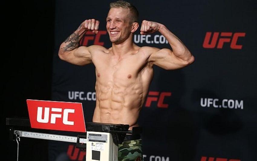 Weigh-in results on UFC ESPN 27
