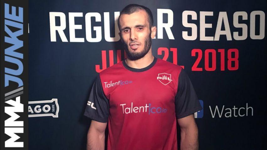 Ислам Мамедов против Тиаго Тавареса на турнире PFL 9