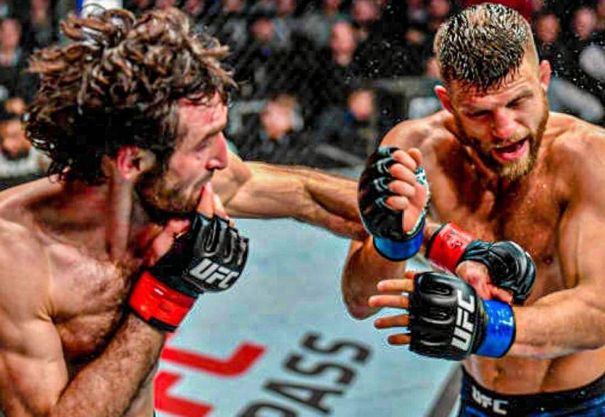 Забит Магомедшарипов одержал победу над Келвином Каттаром на UFC Fight Night 163