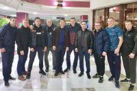 Головкин навестил Поветкина. Оба боксёра были участниками чемпионата мира в Бангкоке и Олимпиады в Афинах