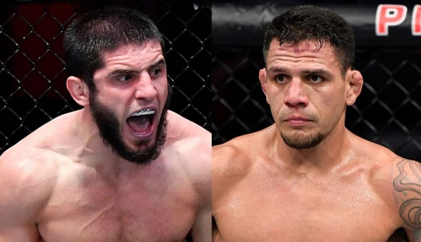UFC news: Islam Makhachev and Rafael Dos Anjos exchanged messages on Twitter again