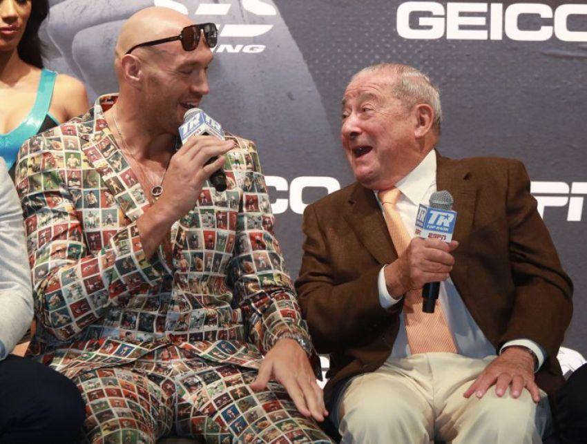 Боб Арум уверен, что реванш Уайлдера и Фьюри соберет такие же деньги, как бой Пакьяо - Мейвезер