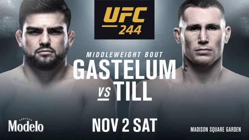 Официально: Келвин Гастелум - Даррен Тилл на UFC 244