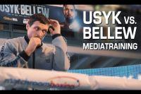 ВИДЕО: Открытая тренировка Александра Усика и Тони Беллью