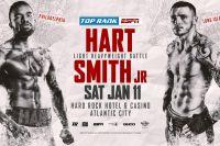 Официально: Джесси Харт встретится с Джо Смитом-младшим 11 января