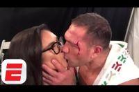Кубрат Пулев может лишиться лицензии CSAC за поцелуй с журналисткой
