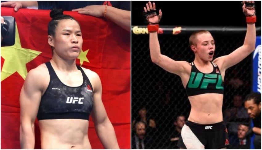 Weili Zhang and Rose Namajunas fight postponed to USA