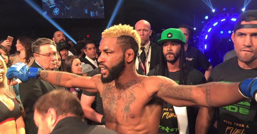 Чемпион Bellator Даррион Колдвелл рассказал про конфликт с Коди Гарбрандтом на взвешивании UFC 207