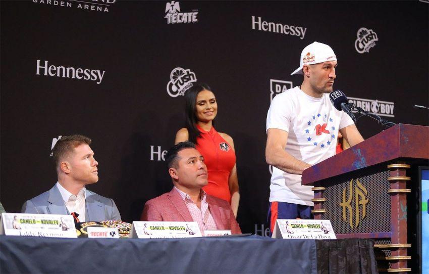 """Оскар Де Ла Хойя: """"Ковалев – один из самых избегаемых боксеров в своем весе"""""""