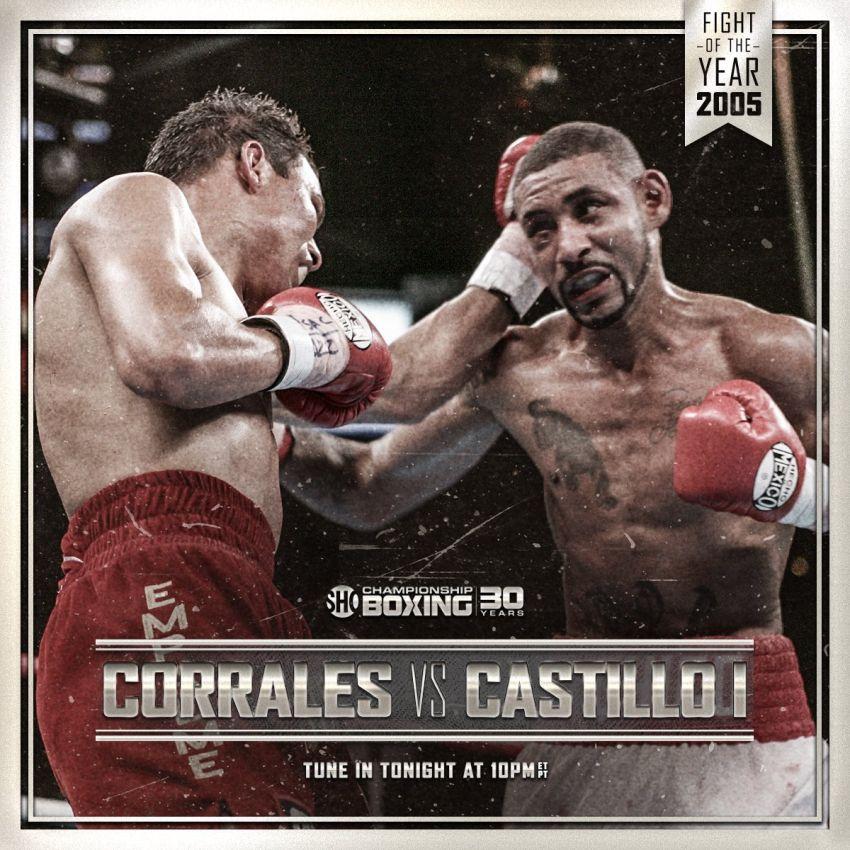 Чико Корралес vs Хосе Луис Кастильо 1 (HD)