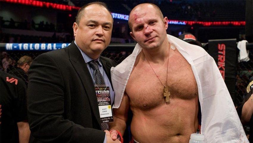 Президент Bellator рассказал о дальнейших планах на Федора Емельяненко