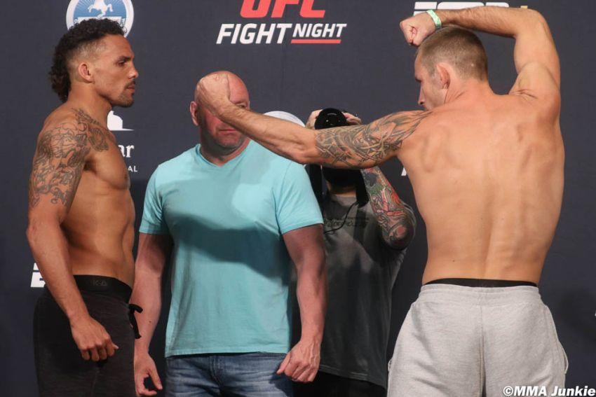 Видео боя Эрик Андерс - Кшиштоф Йотко UFC on ESPN 8