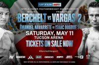 Ставки на бокс: Коэффициенты букмекеров на бои Берчельт - Варгас 2 и Херд - Уильямс