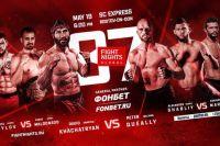 Результаты турнира FIGHT NIGHTS GLOBAL 87