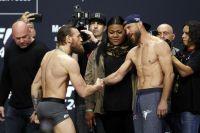Церемония взвешивания перед UFC 246: Конор Макгрегор - Дональд Серроне