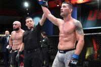 """Слова Криса Вайдмана после победы над Ахмедовым на UFC on ESPN+ 32: """"Я вернулся!"""""""