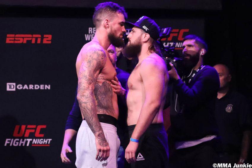 Видео боя Таннер Босер - Даниэль Шпитц UFC on ESPN 6