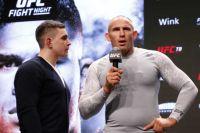 Битва взглядов участников турнира UFC Fight Night 149 Санкт-Петербург