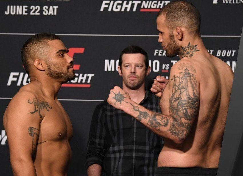 Видео боя Дерон Винн - Эрик Спайсли UFC Fight Night 154