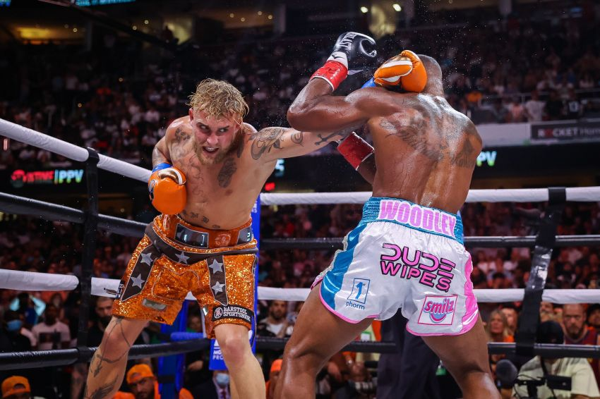Boxing news: Statistics of blows of the fight of Jake Paul and Tyron Woodley