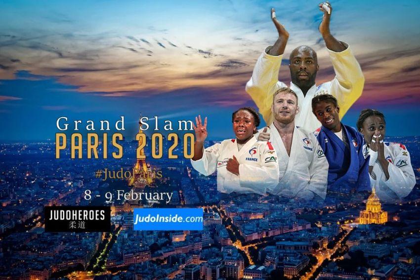 Прямая трансляция турнира Большого шлема по дзюдо в Париже 2020