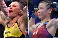 В разработке: Джессика Андраде - Вейли Жанг на турнире UFC в Китае