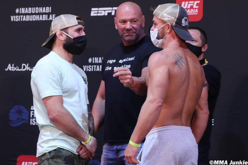 Видео боя Джимми Ривера - Коди Стаманн UFC on ESPN 13
