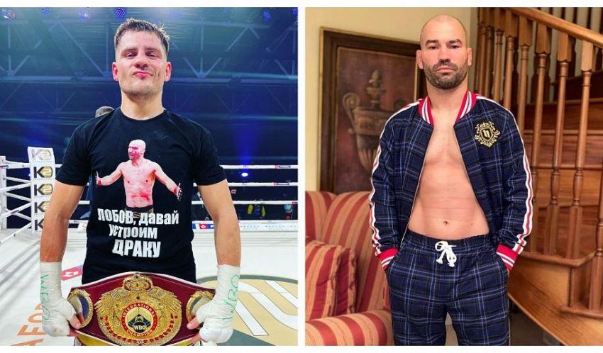 Денис Беринчик и Артем Лобов провели первую битву взглядов: видео
